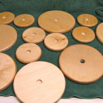 Bases and tops for hat stand