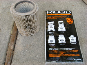 Ridgid WD1450 Filter Bags
