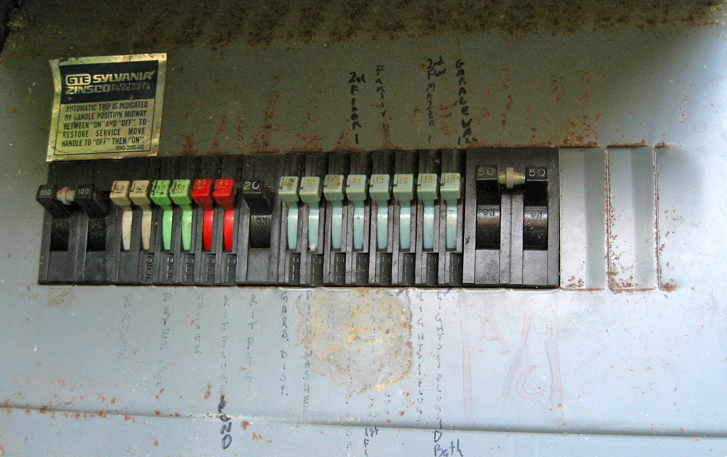 Central Air Circuit Breaker Keeps Tripping Unlimited Access To Pics Photos Panel Electrical Causes Of Breakers