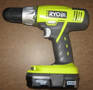 Ryobi Lithium Drill P882