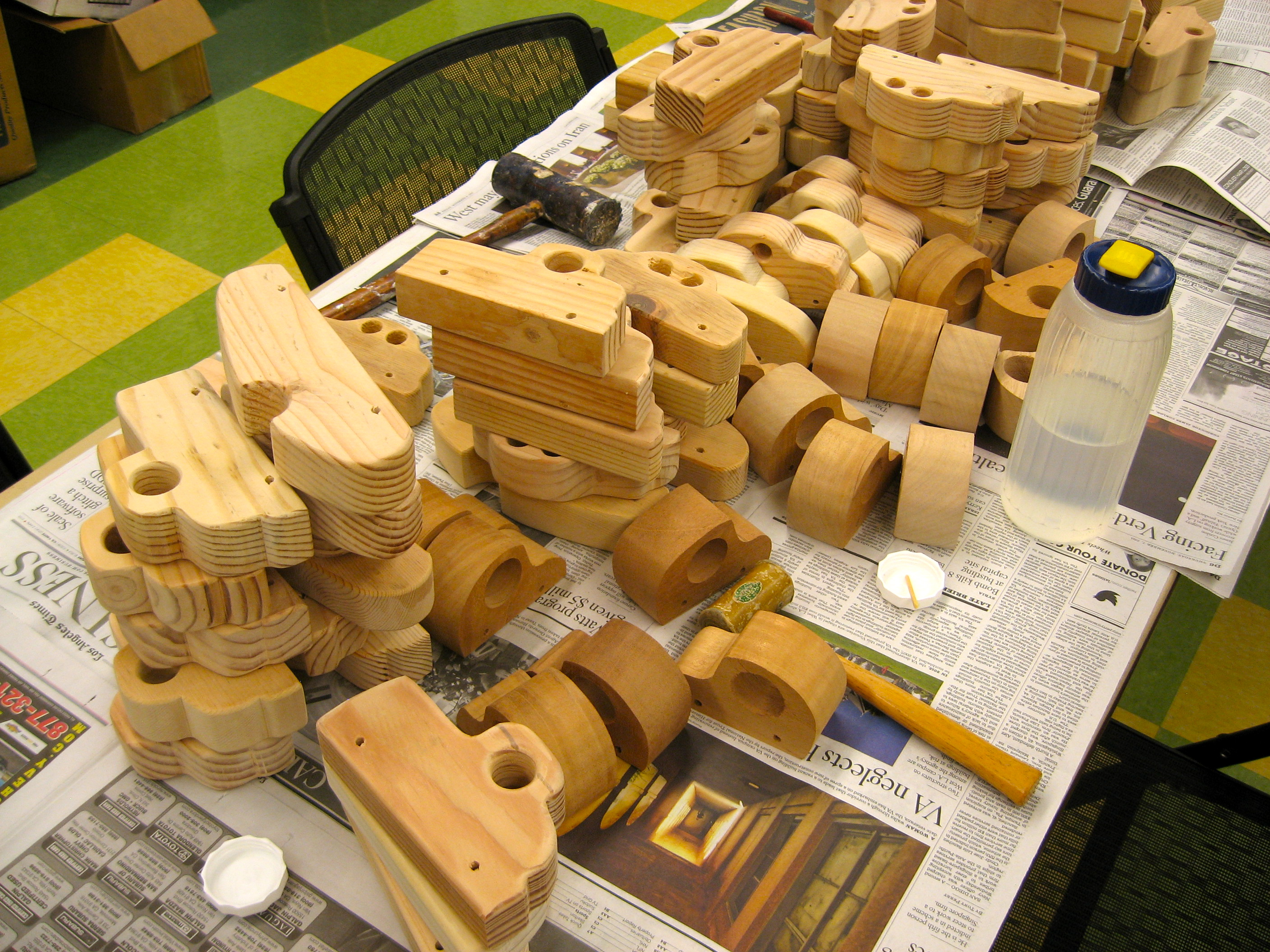 Making Wooden Toy Trucks