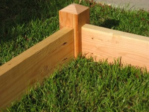 frame attached square foot garden frame