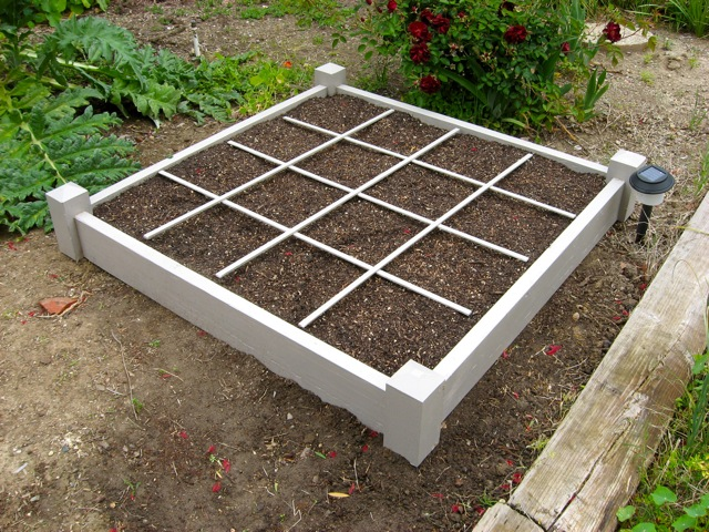 Square foot garden frame