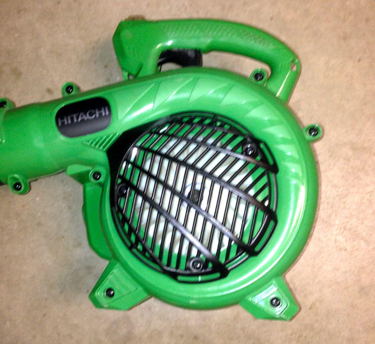 hitachi gas leaf blower. hitachi rb24eap leaf blower gas e