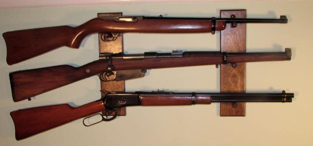 Rifle rack plans free display
